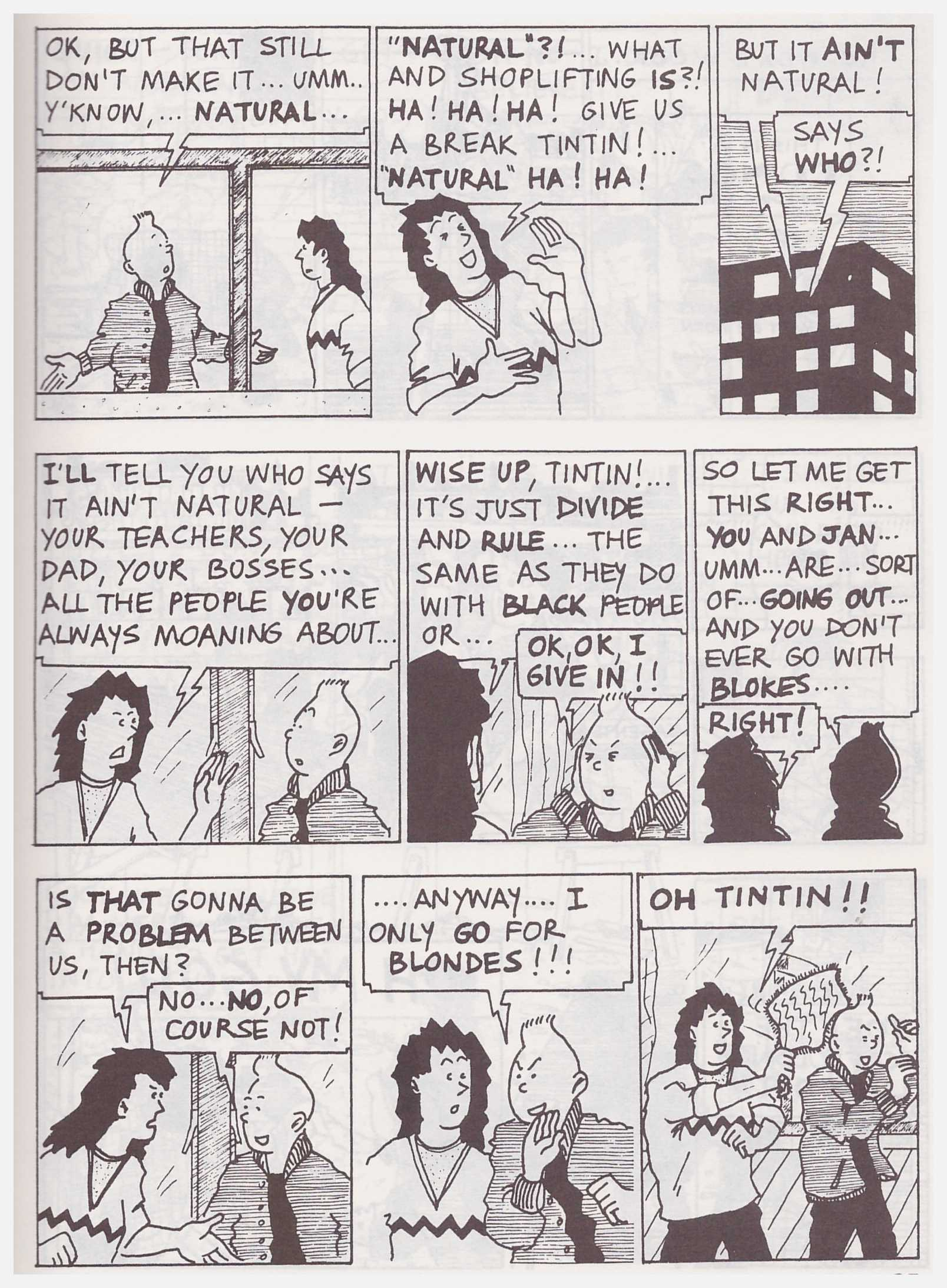 Tintin Breaking Free review