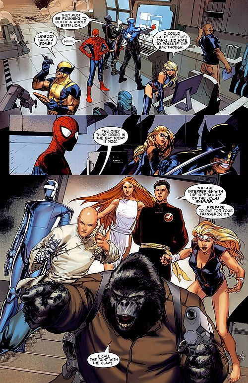 Agents of Atlas review Dark Reign review