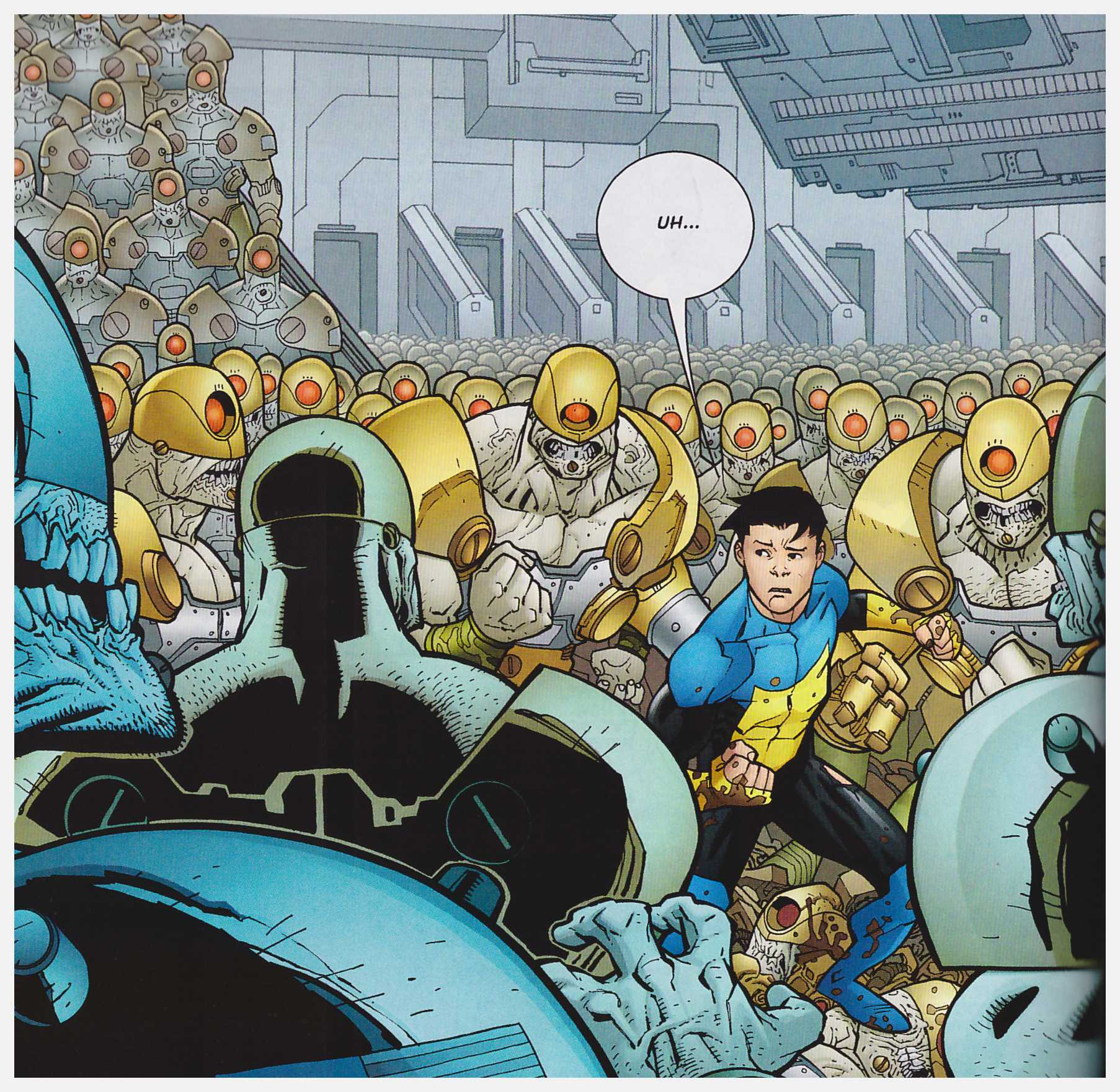 Invincible Who's the Boss review