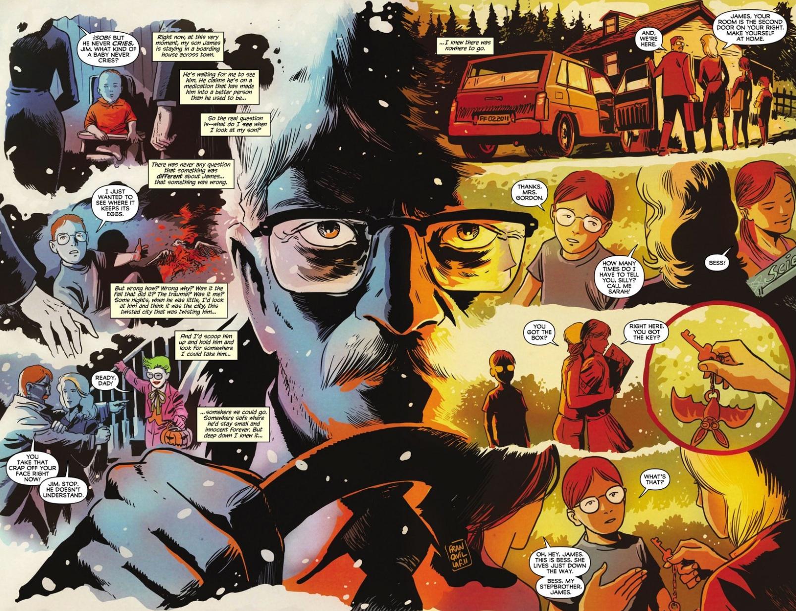 Batman The Black Mirror review