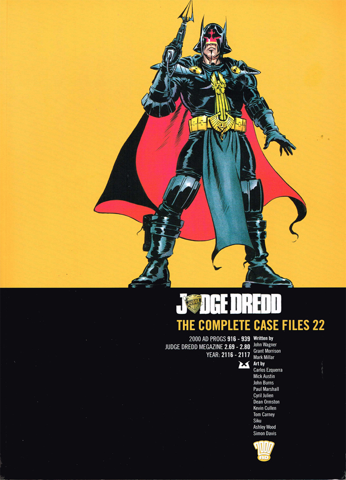 Judge Dredd: The Complete Case Files 22
