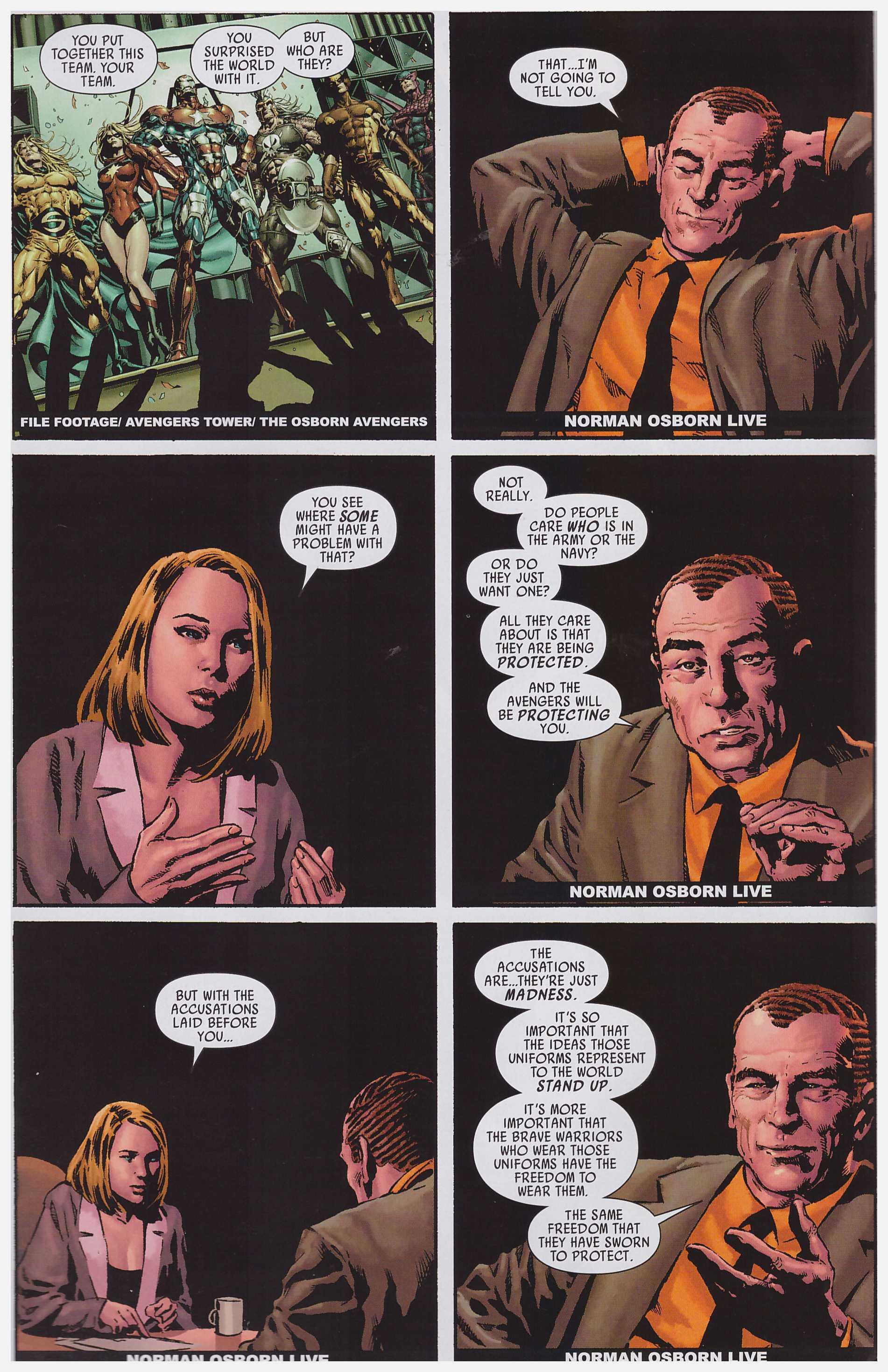 Dark Avengers Assemble review