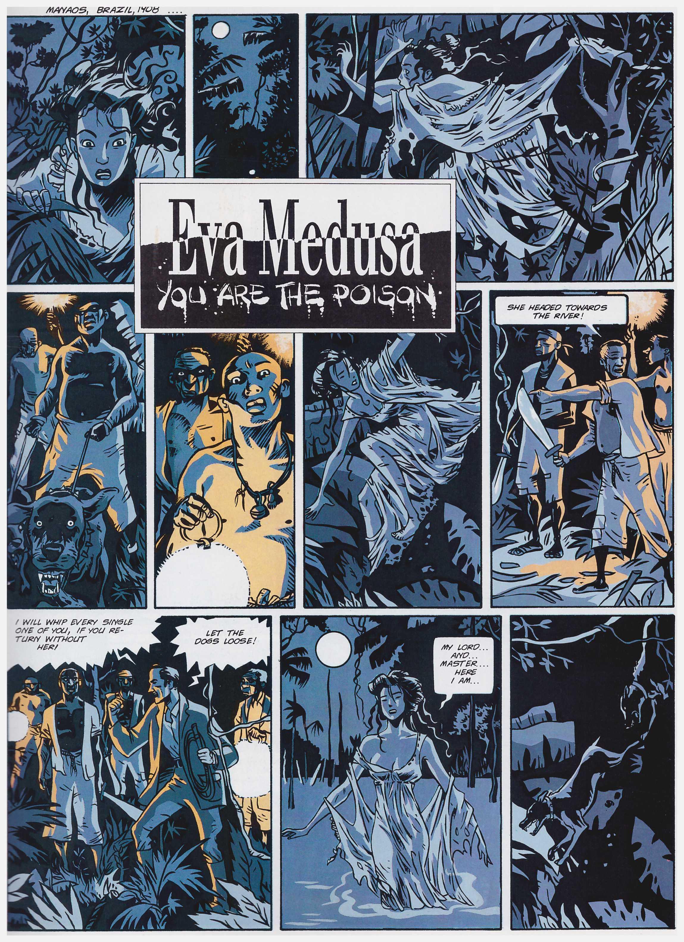 Eva Medusa graphic novel review