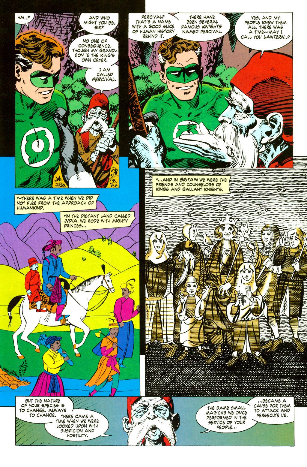 Green Lantern Ganthet's Tale review