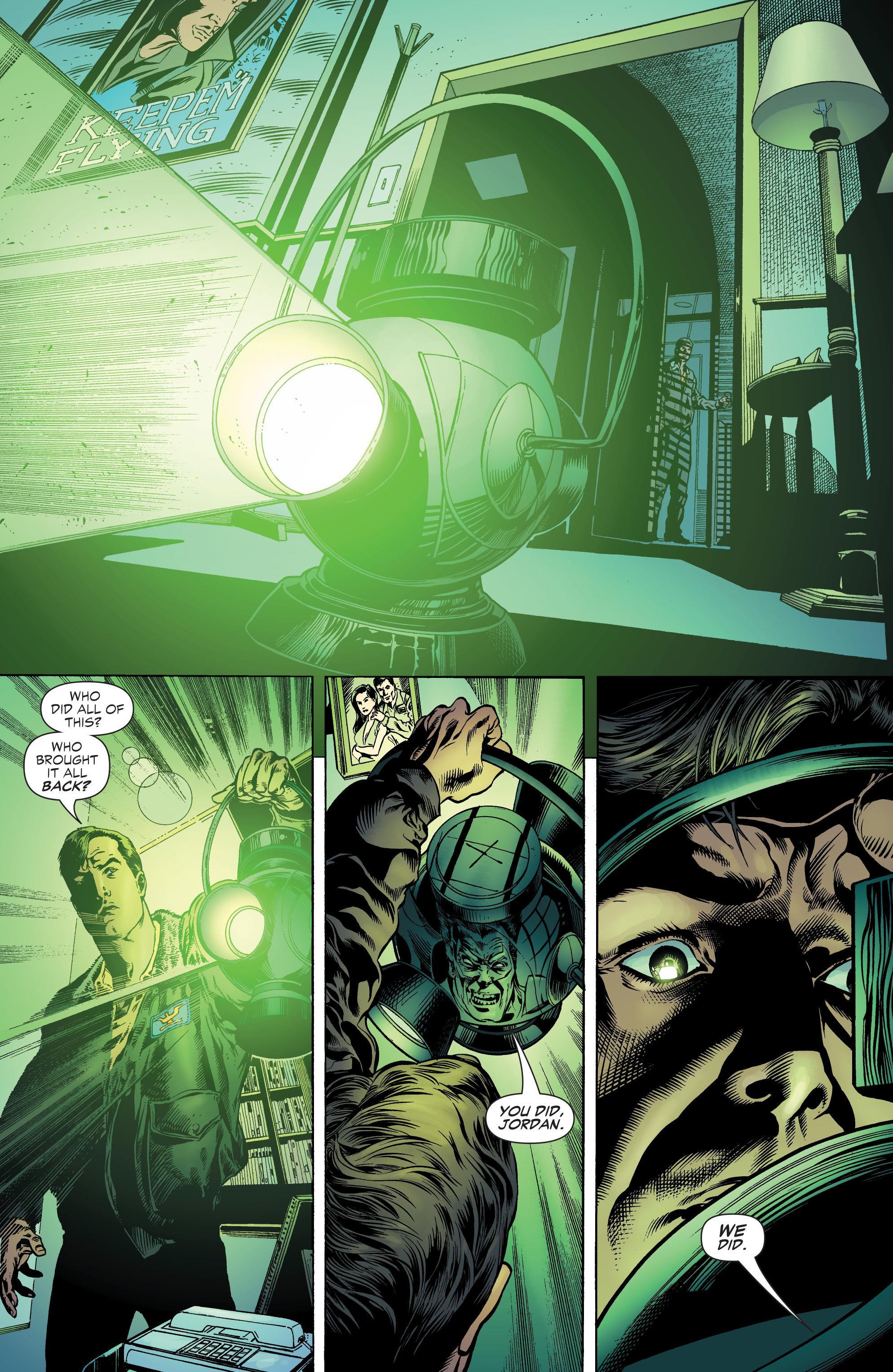 Green Lantern Rebirth review