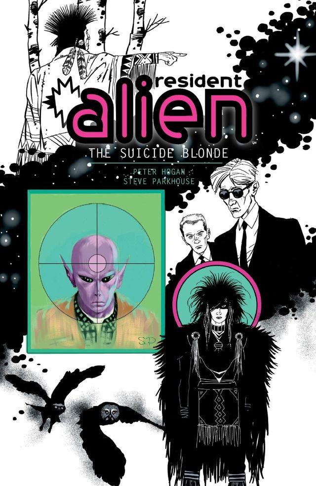 Resident Alien: Suicide Blonde