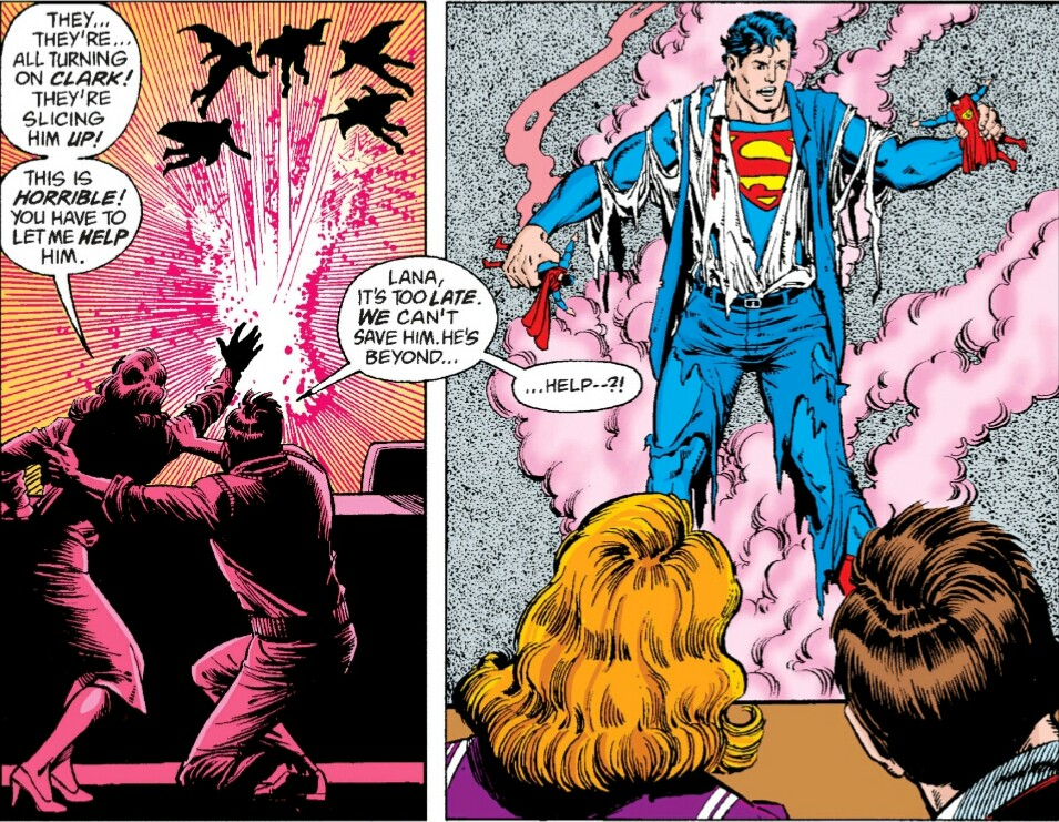 Superman Whatever Happened to the Man of Tomorrow review