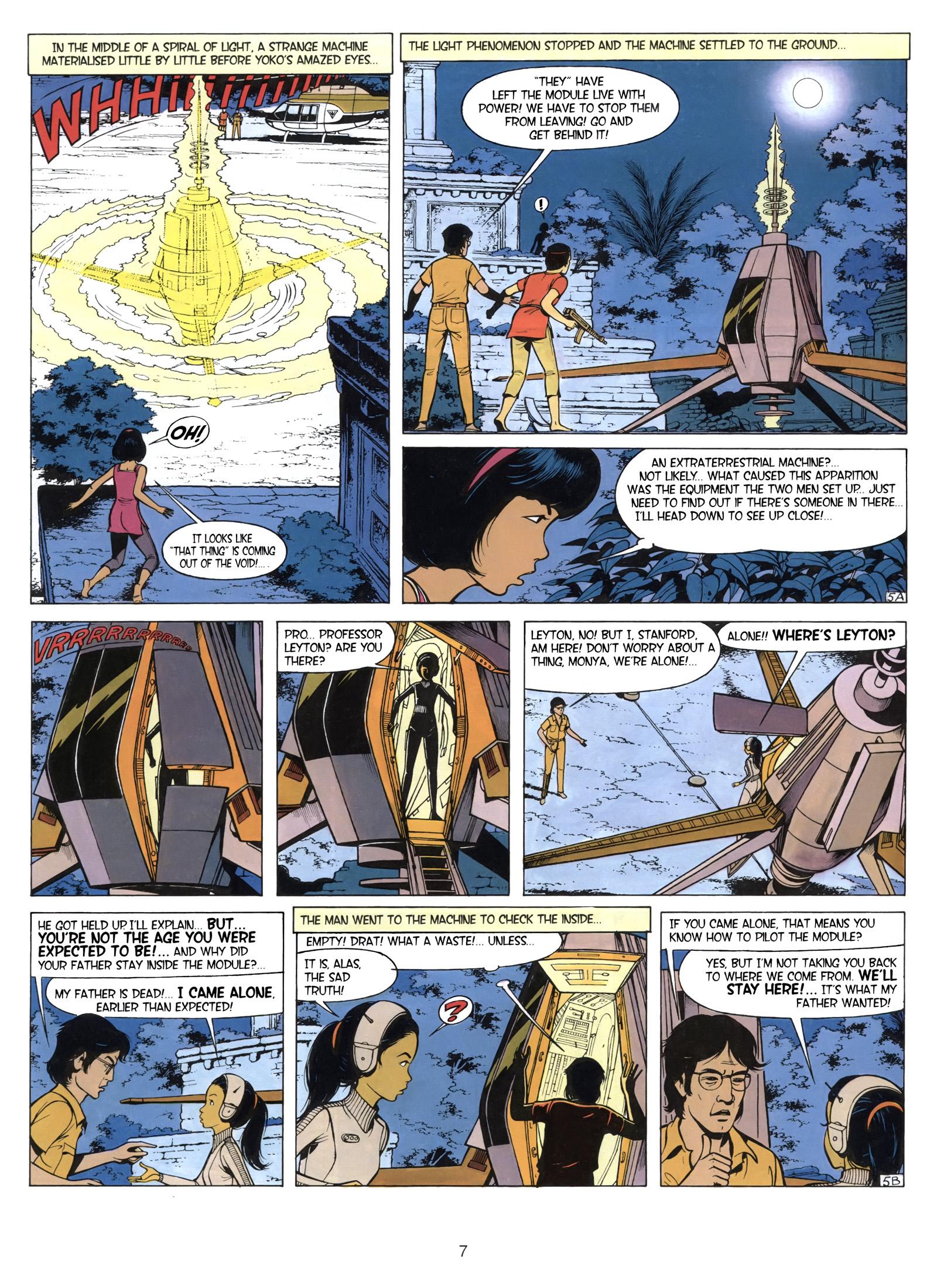 Yoko Tsuno The Time Spiral review