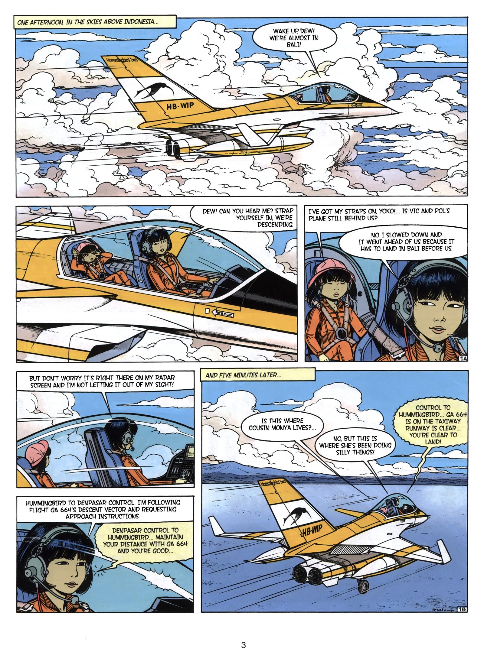 Yoko Tsuno The Morning of the World review