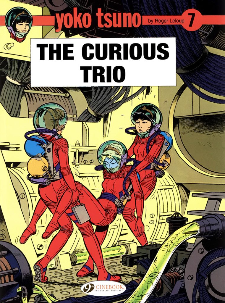 Yoko Tsuno: The Curious Trio