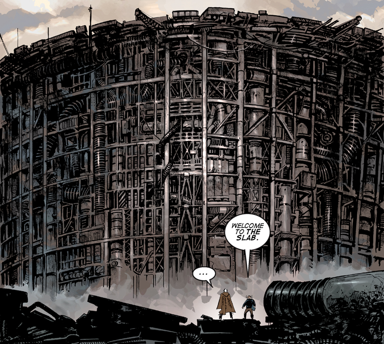 Planetoid graphic novel review