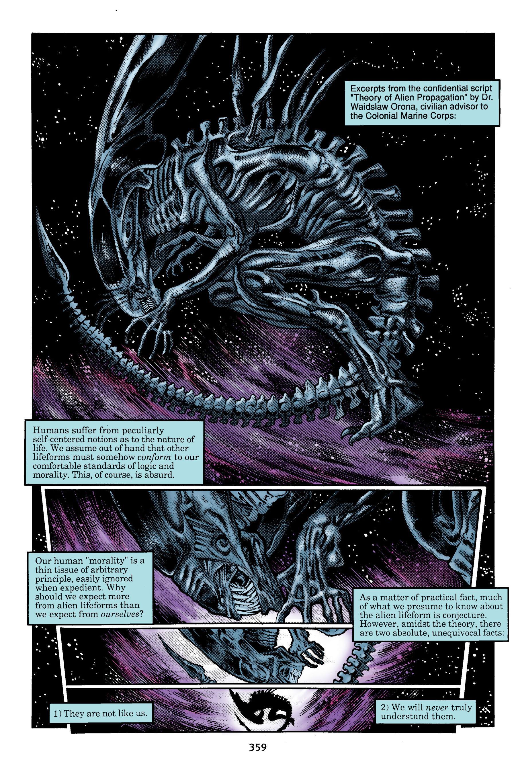 Aliens Omnibus Volume 1 review
