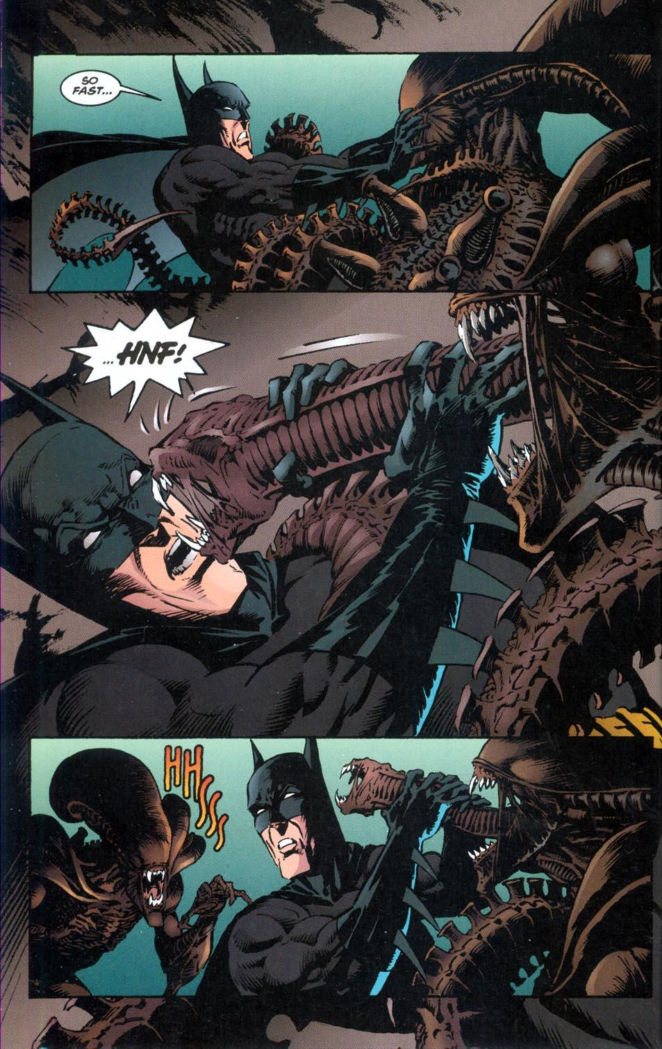 Batman Aliens review