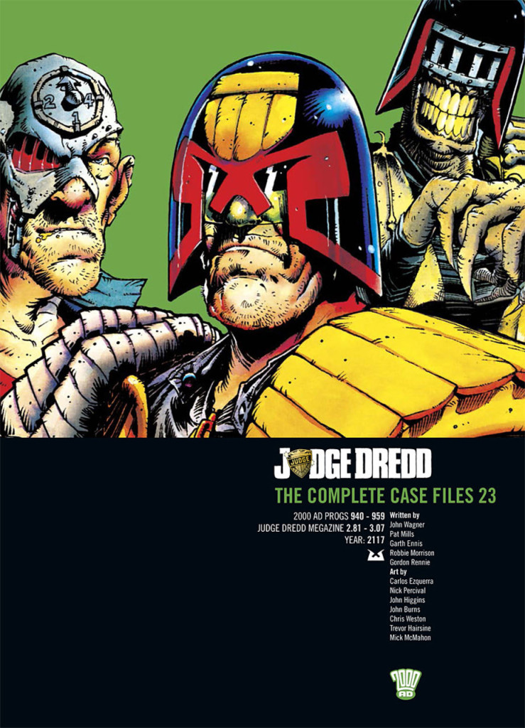 Judge Dredd: The Complete Case Files 23