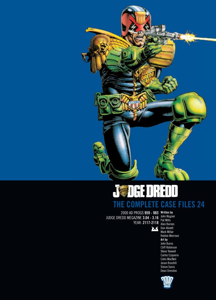 Judge Dredd: The Complete Case Files 24