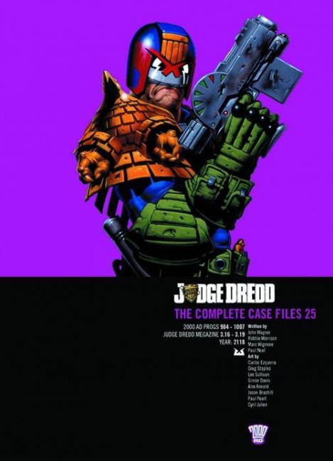 Judge Dredd: The Complete Case Files 25