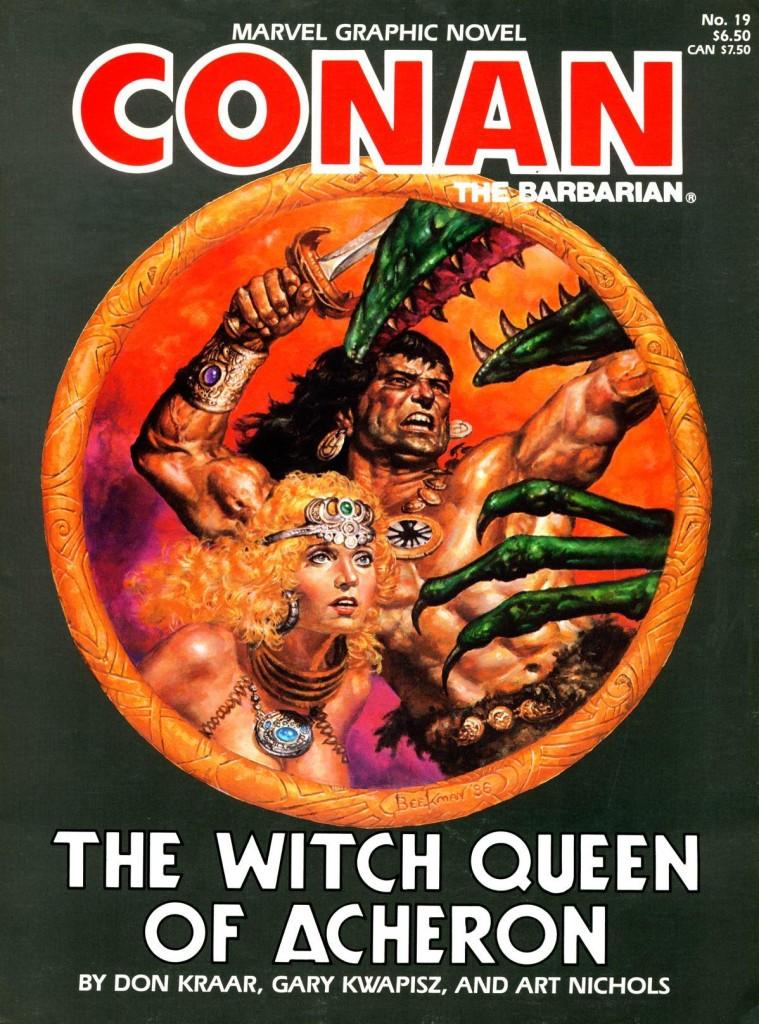Conan the Barbarian: The Witch Queen of Acheron