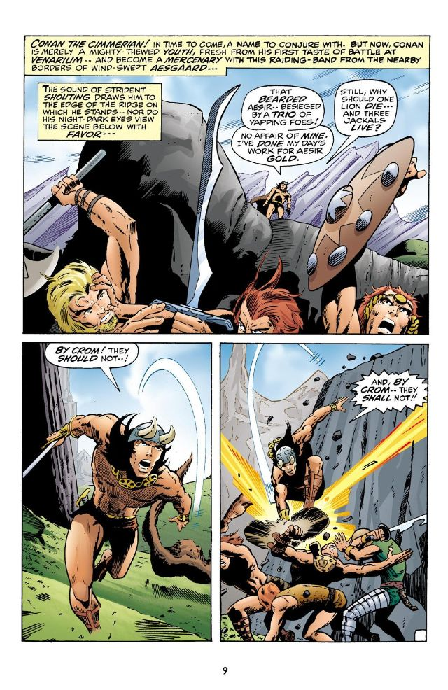 Chronicles of Conan 1 Tower of the Elephant review