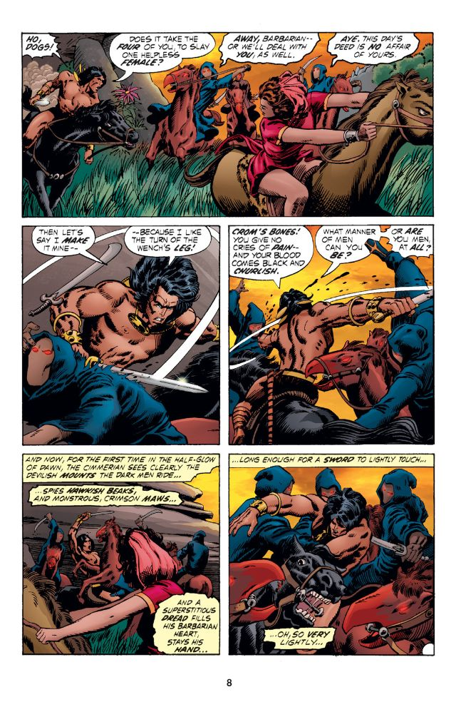 Chronicles of Conan 3 The Monster of the Monoliths review