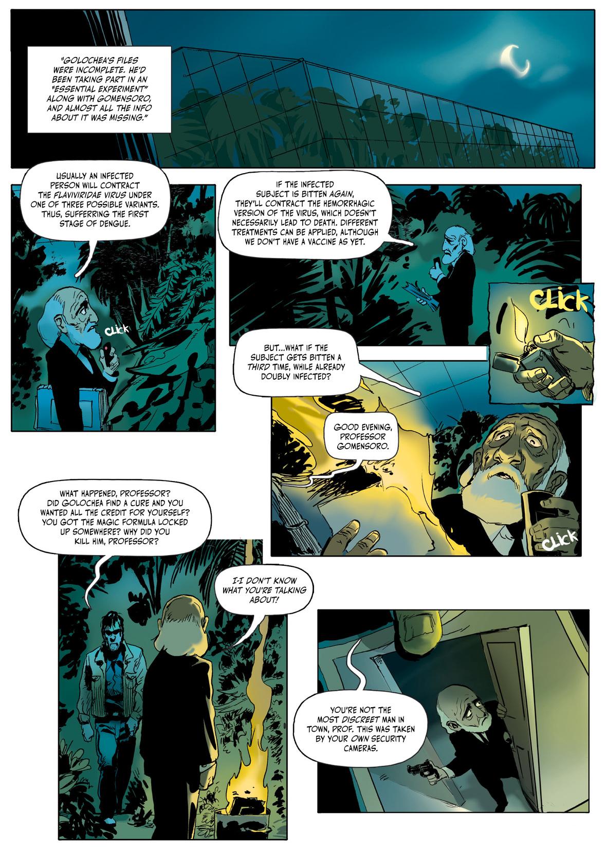 Dengue graphic novel review