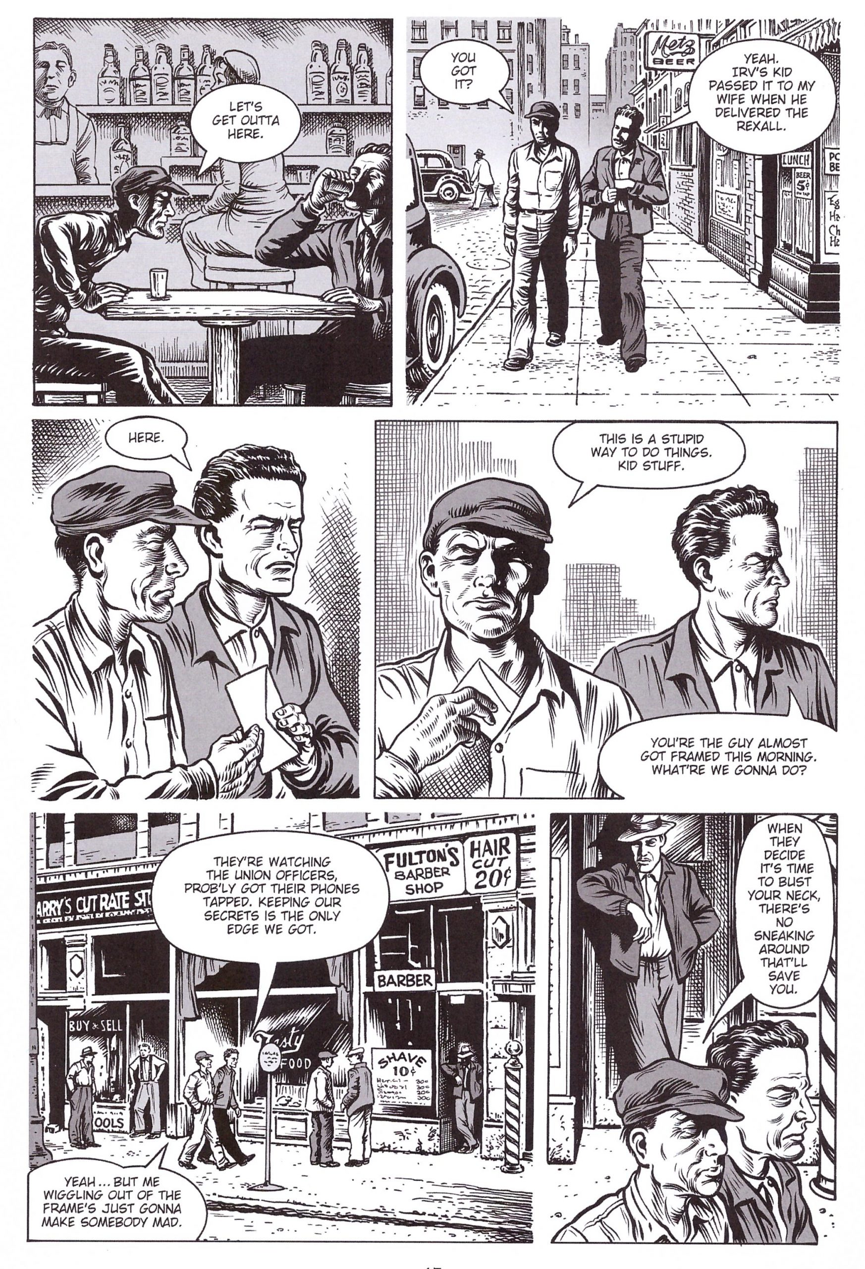 On the Ropes graphic novel review