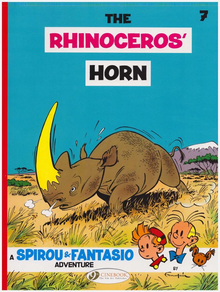 Spirou and Fantasio: The Rhinoceros' Horn