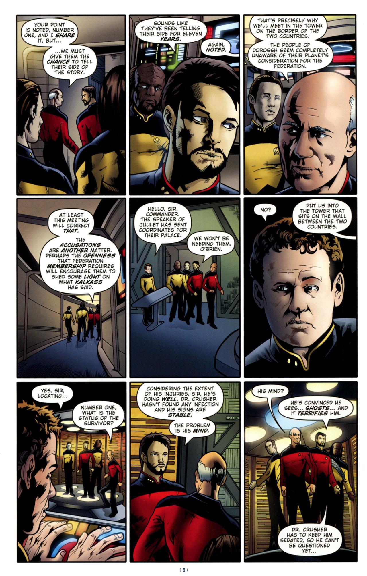 Star Trek TNG Ghosts review