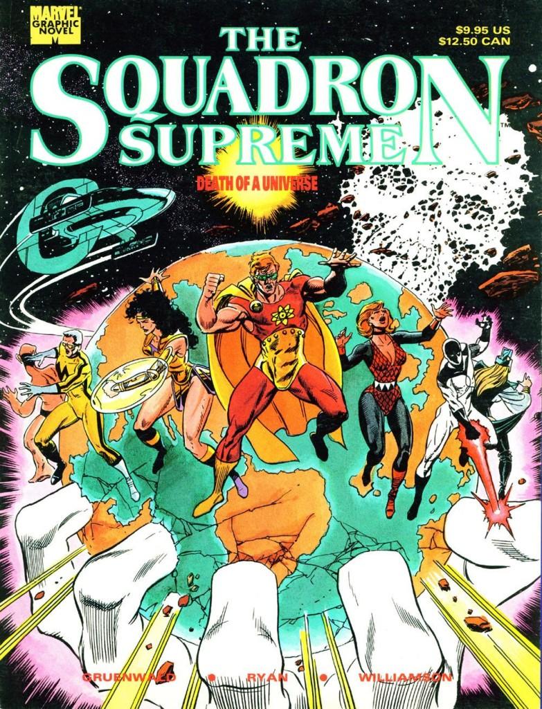 The Squadron Supreme: Death of a Universe