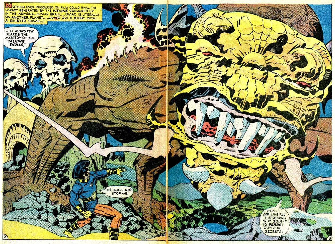 Jack Kirby's Omac review