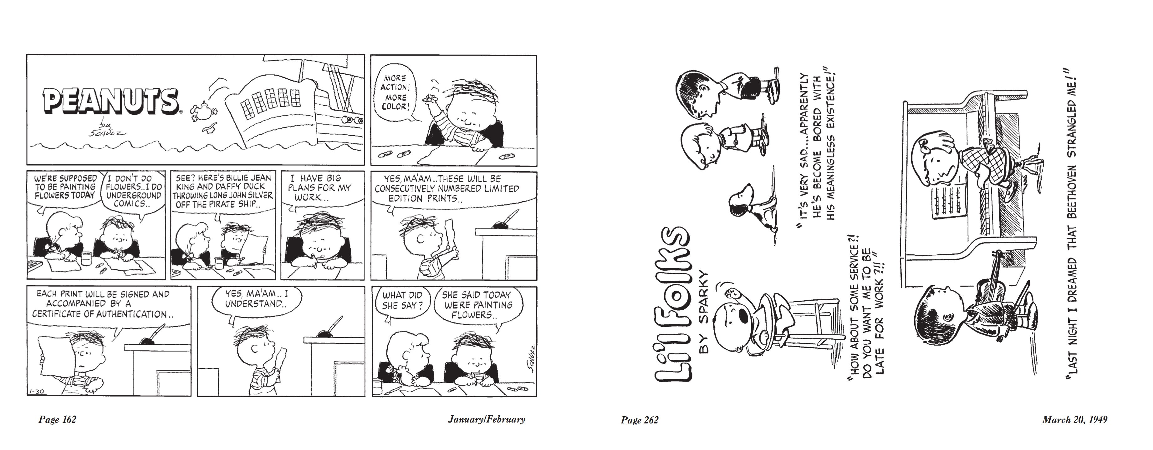 Complete Peanuts 1999 review