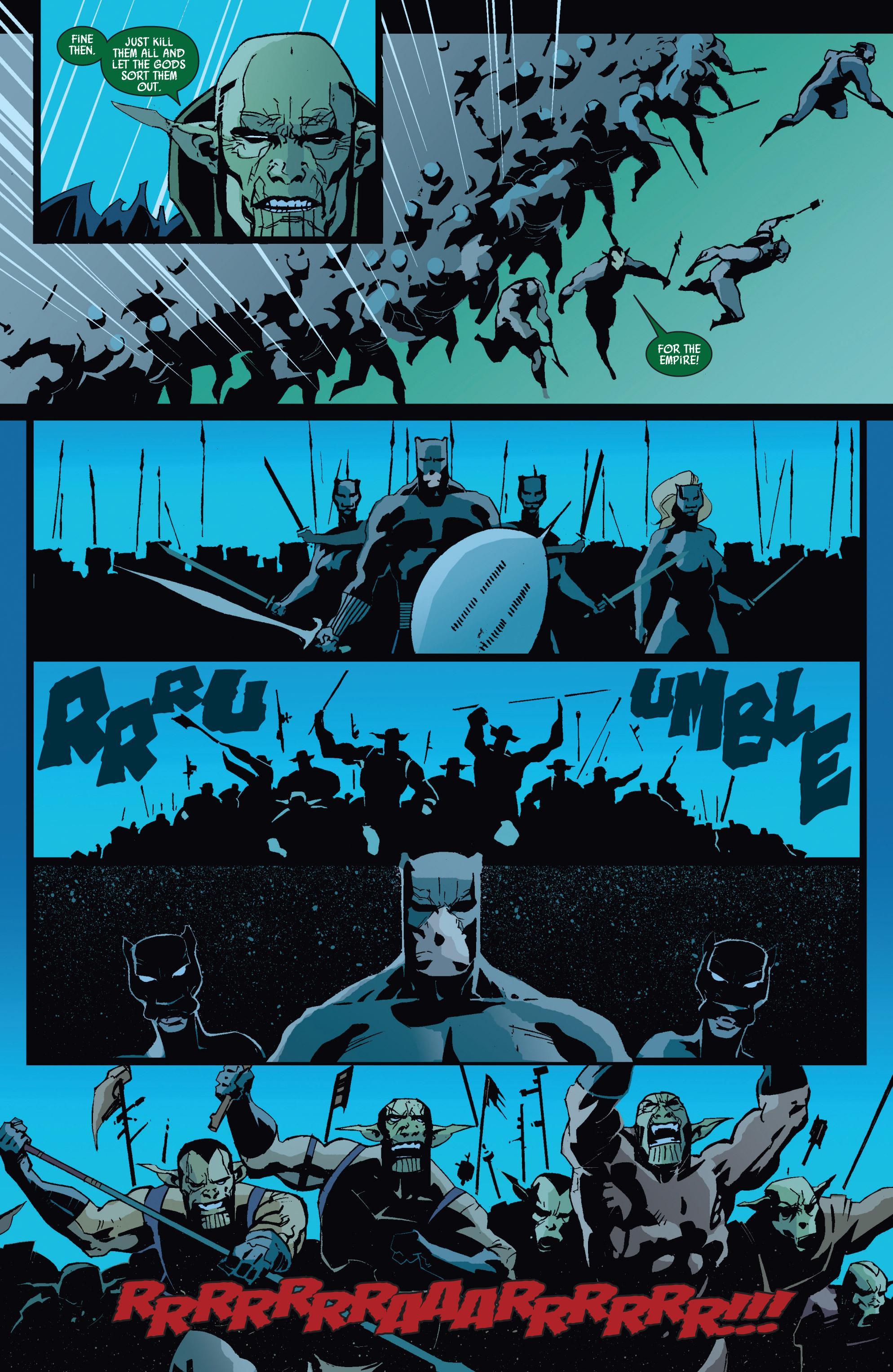 Black Panther Secret Invasion review