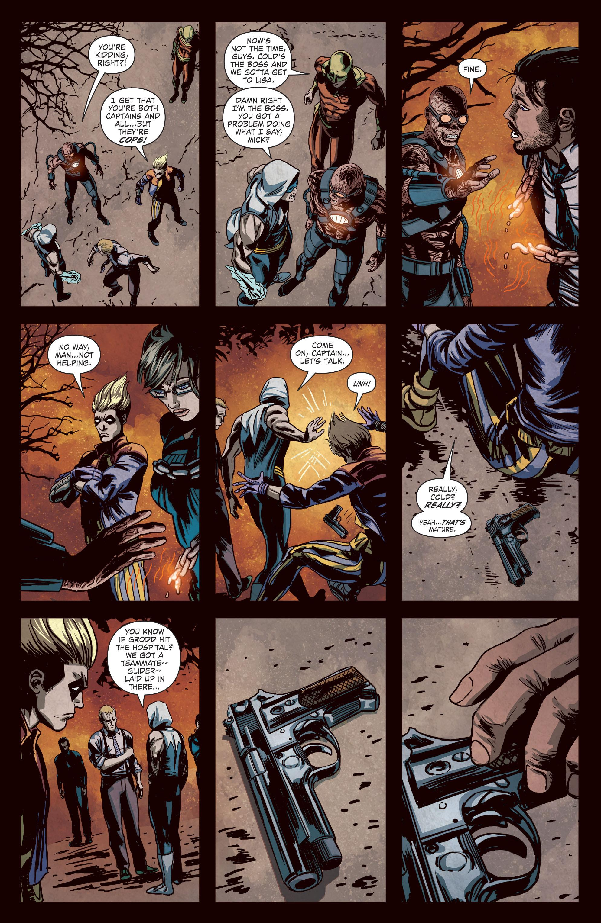 Forever Evil Rogues Rebellion review