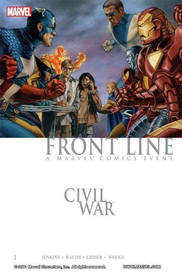 Civil War: Front Line Volume 1