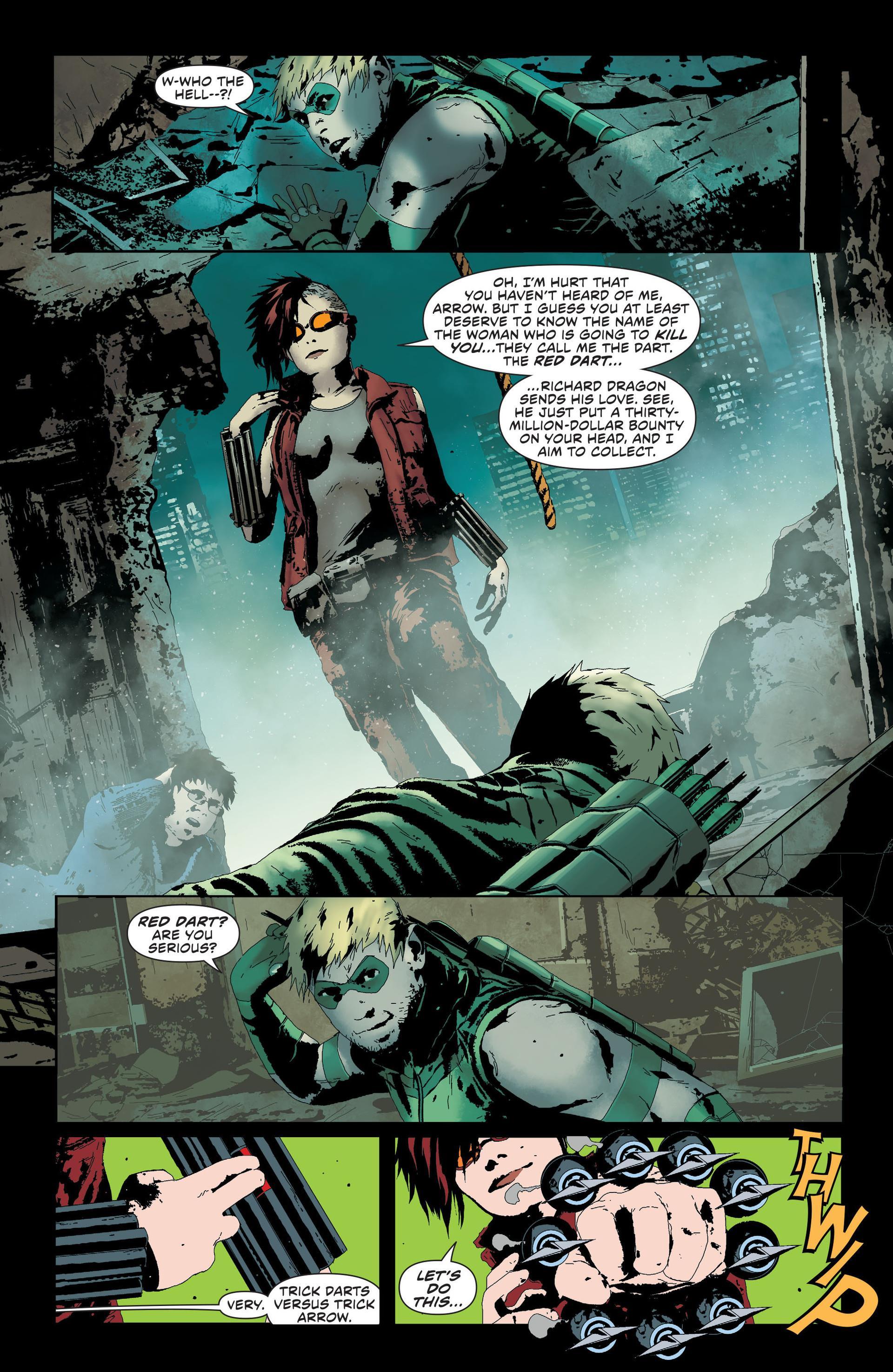Green Arrow Broken review