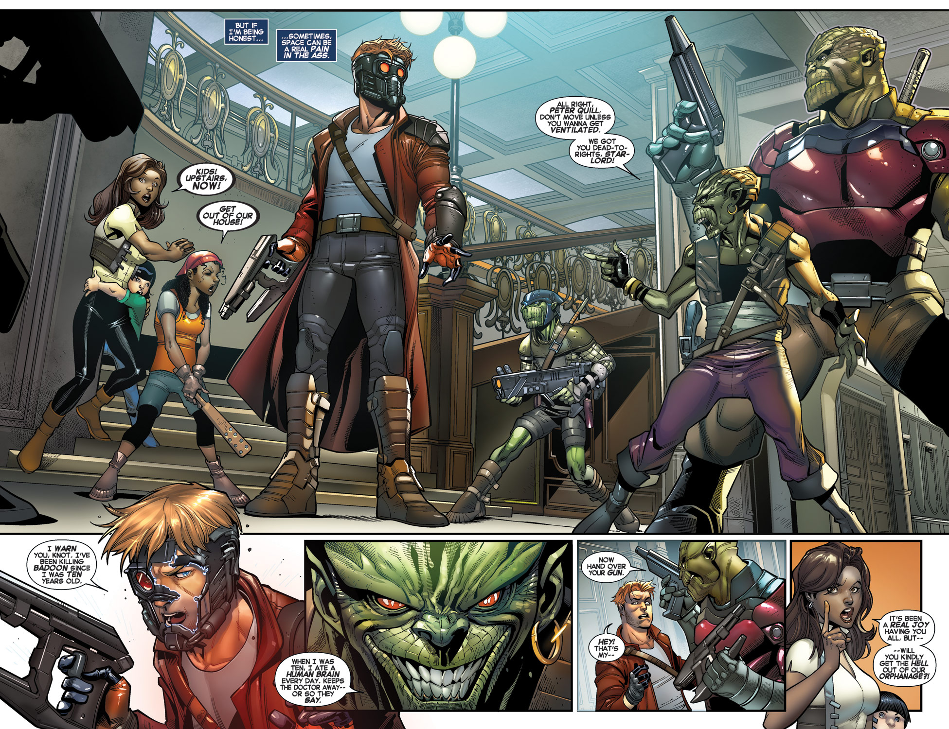 Legendary Star Lord Face It, I Rule review