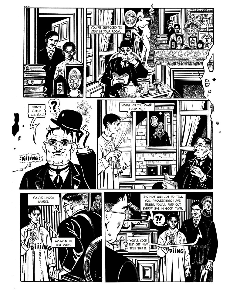 The Trial graphic novel review