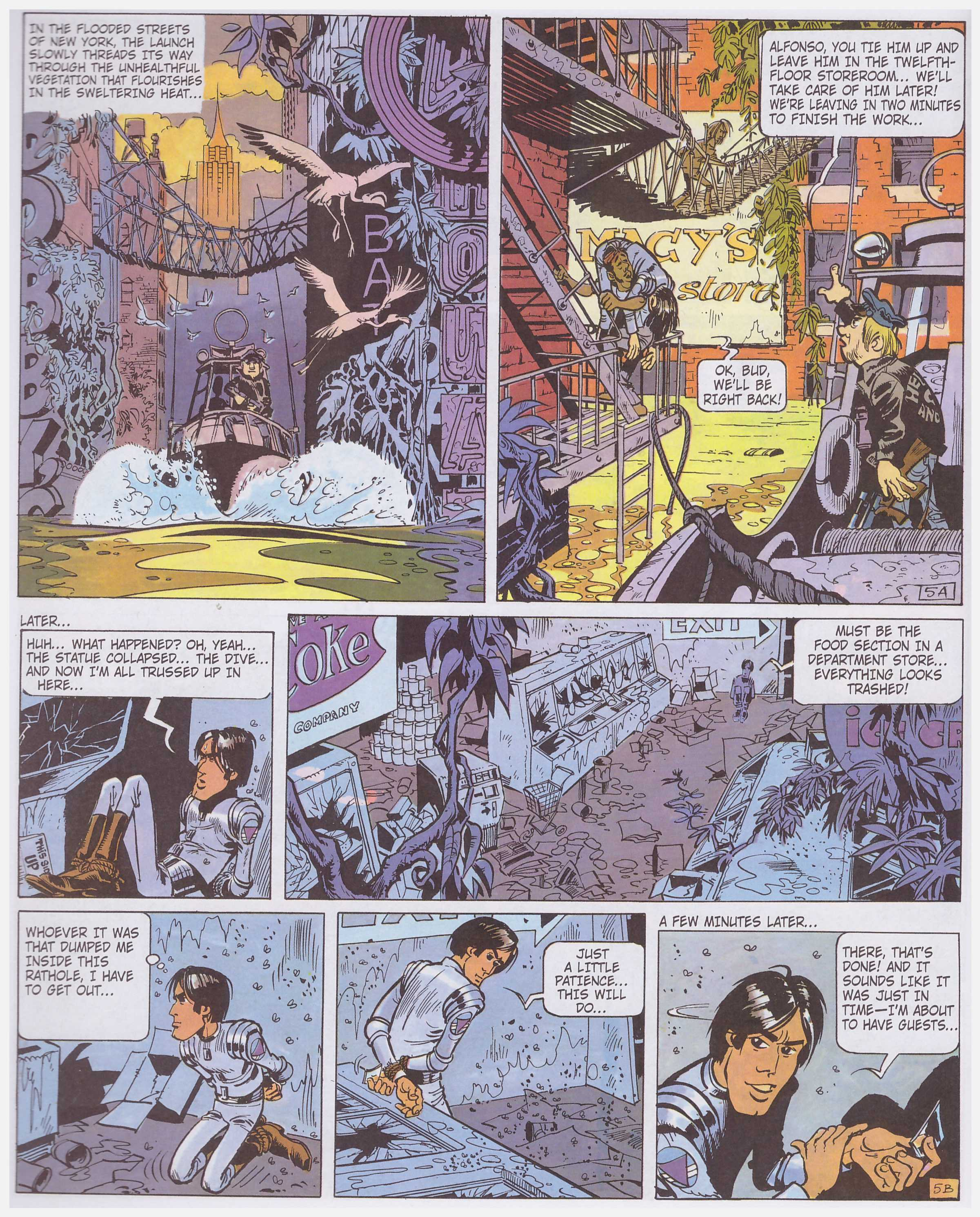 Valerian and Laureline The City of Shifting Waters review