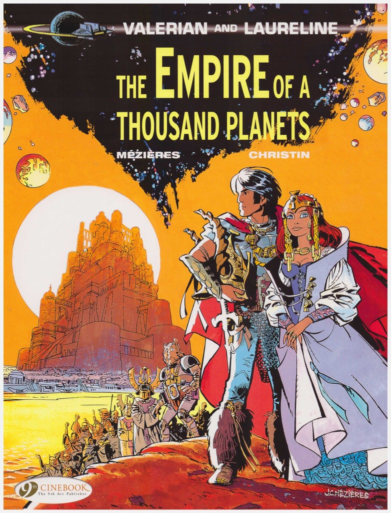 Valerian and Laureline: The Empire of a Thousand Planets