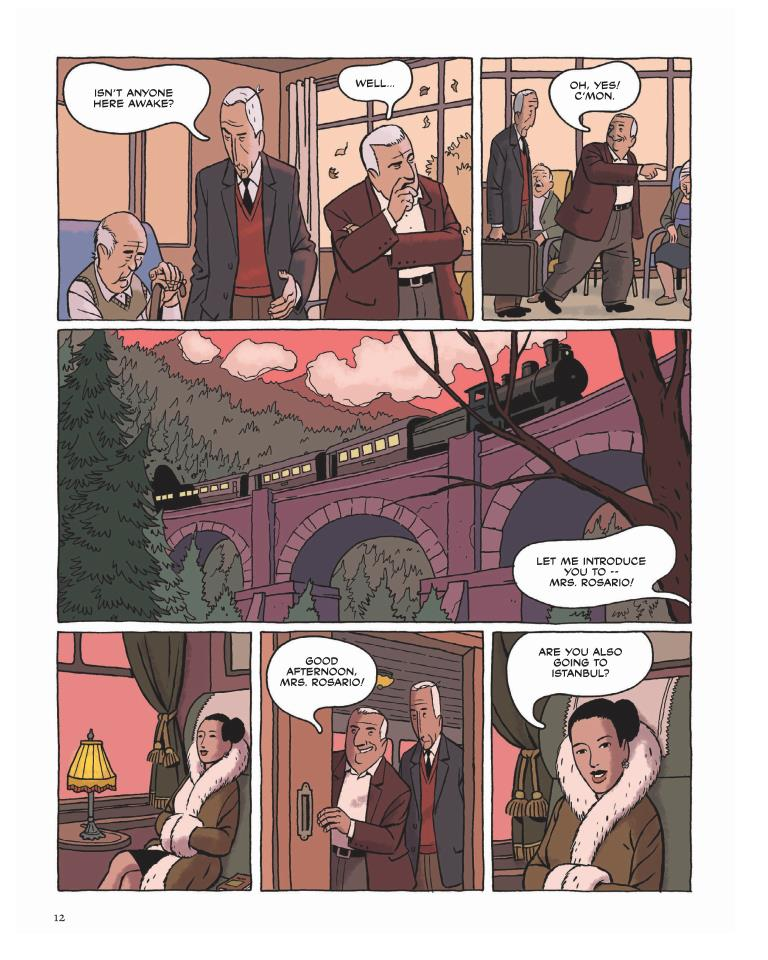 Wrinkles graphic novel review