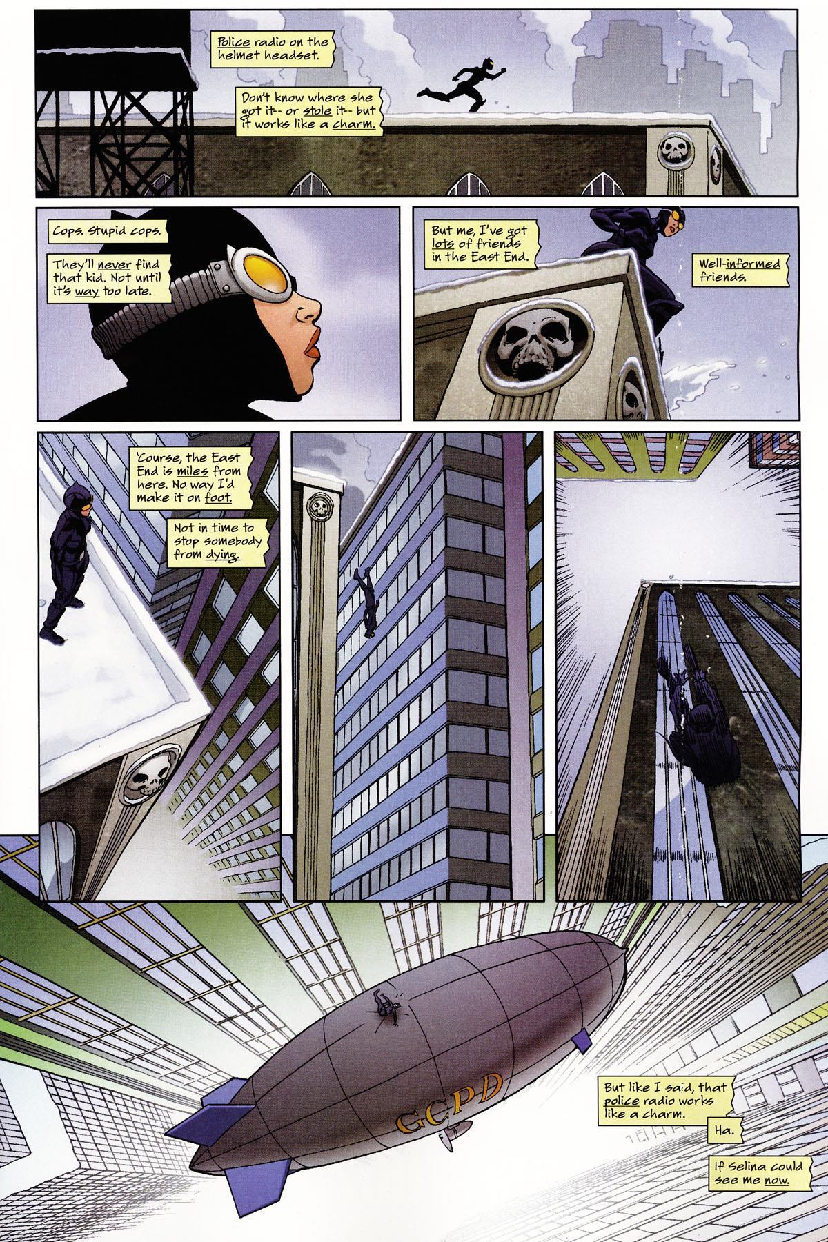 Catwoman Backward Masking review