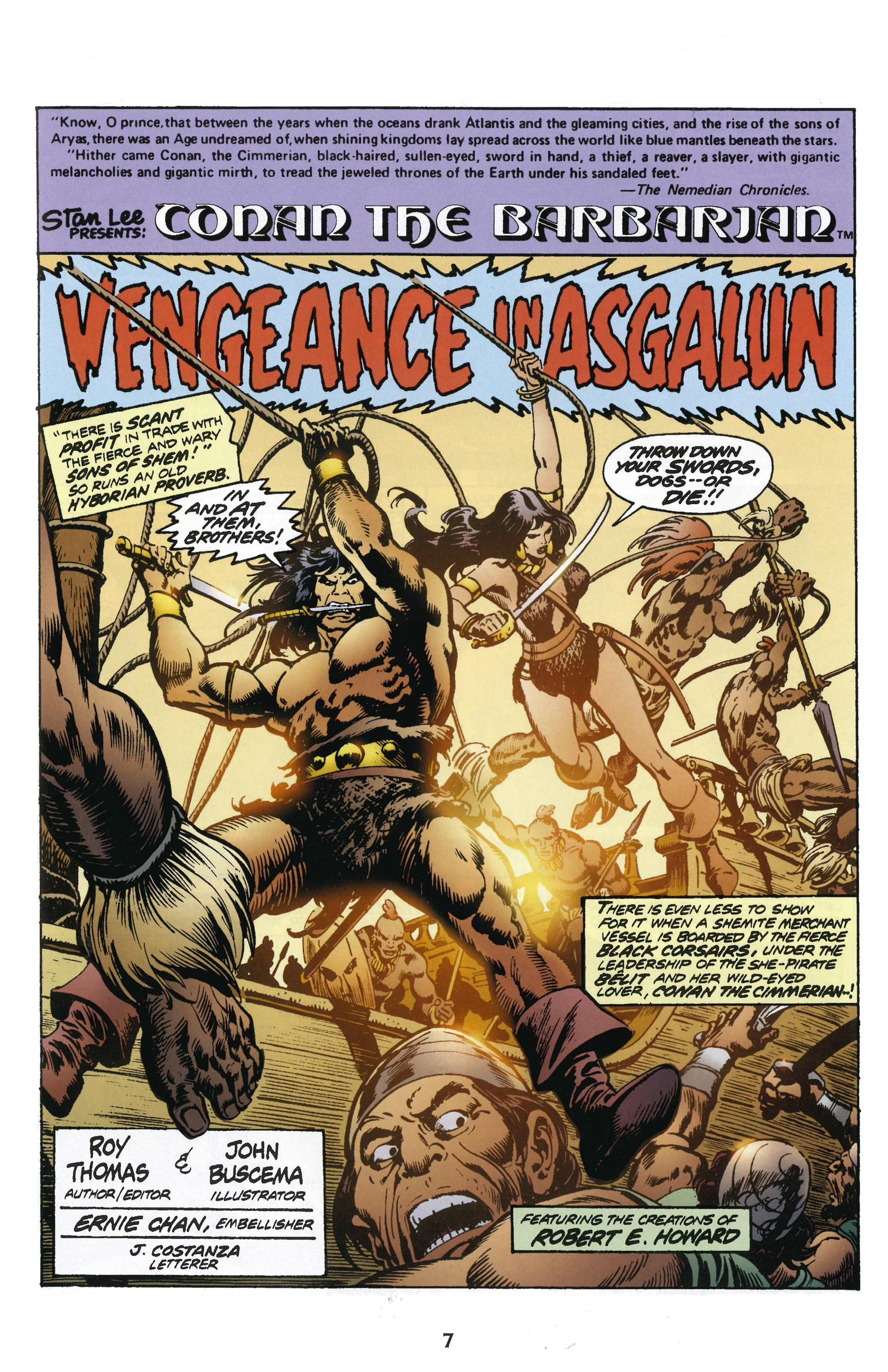 Chronicles of Conan 10 When Giants Walk the Earth review