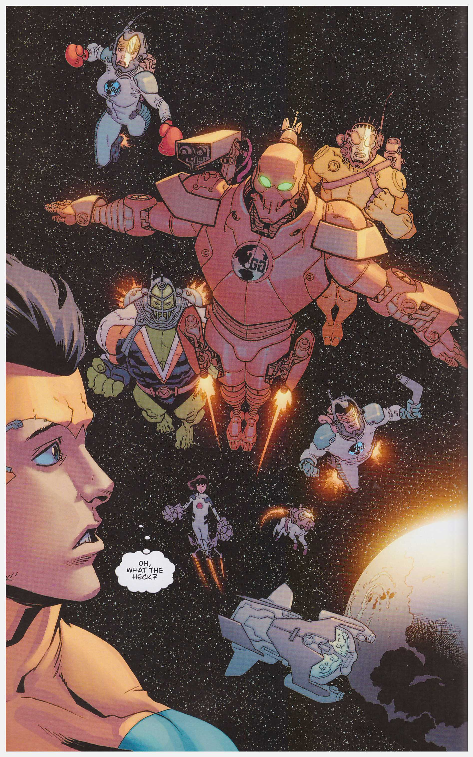 Invincible Family Ties review