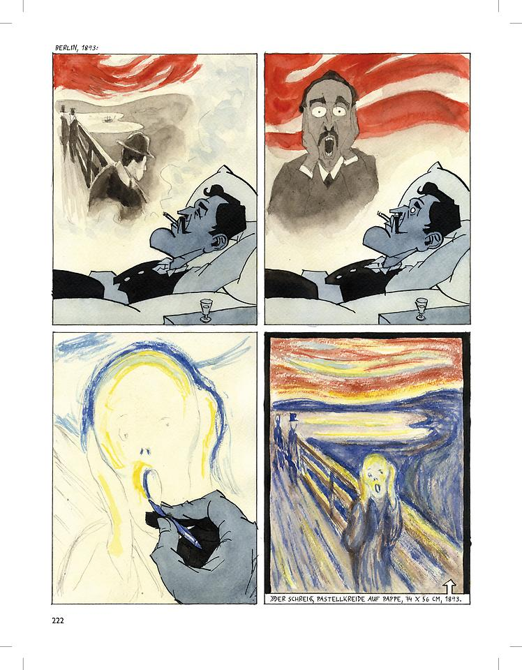 Munch graphic novel review