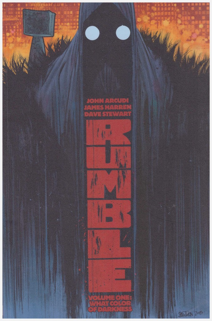 Rumble Volume One: What Color of Darkness?