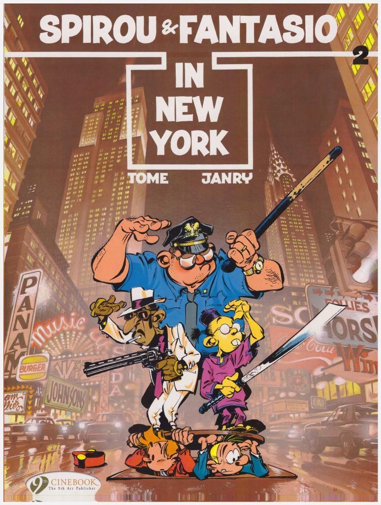 Spirou & Fantasio in New York