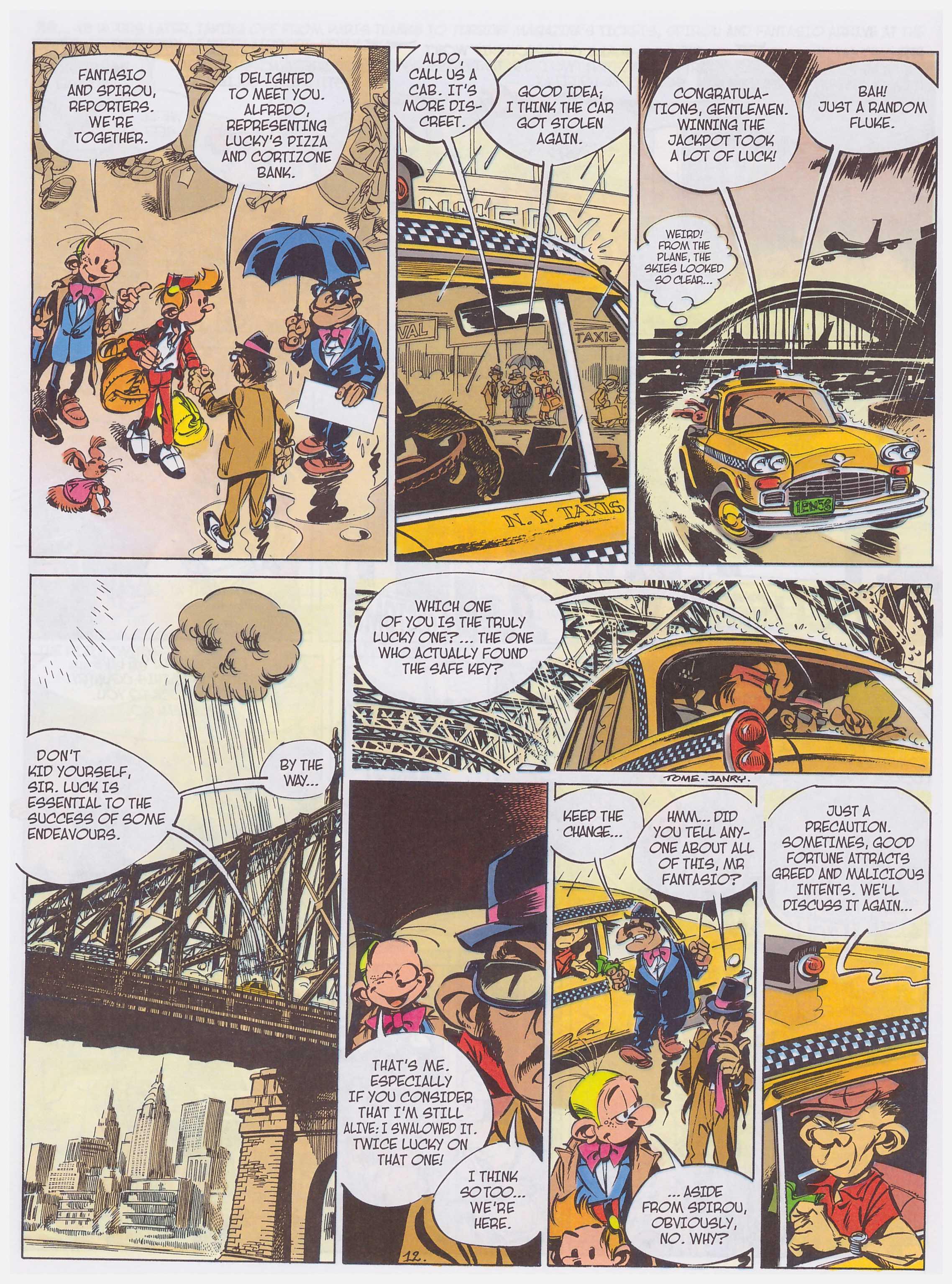 Spirou & Fantasio in New York review