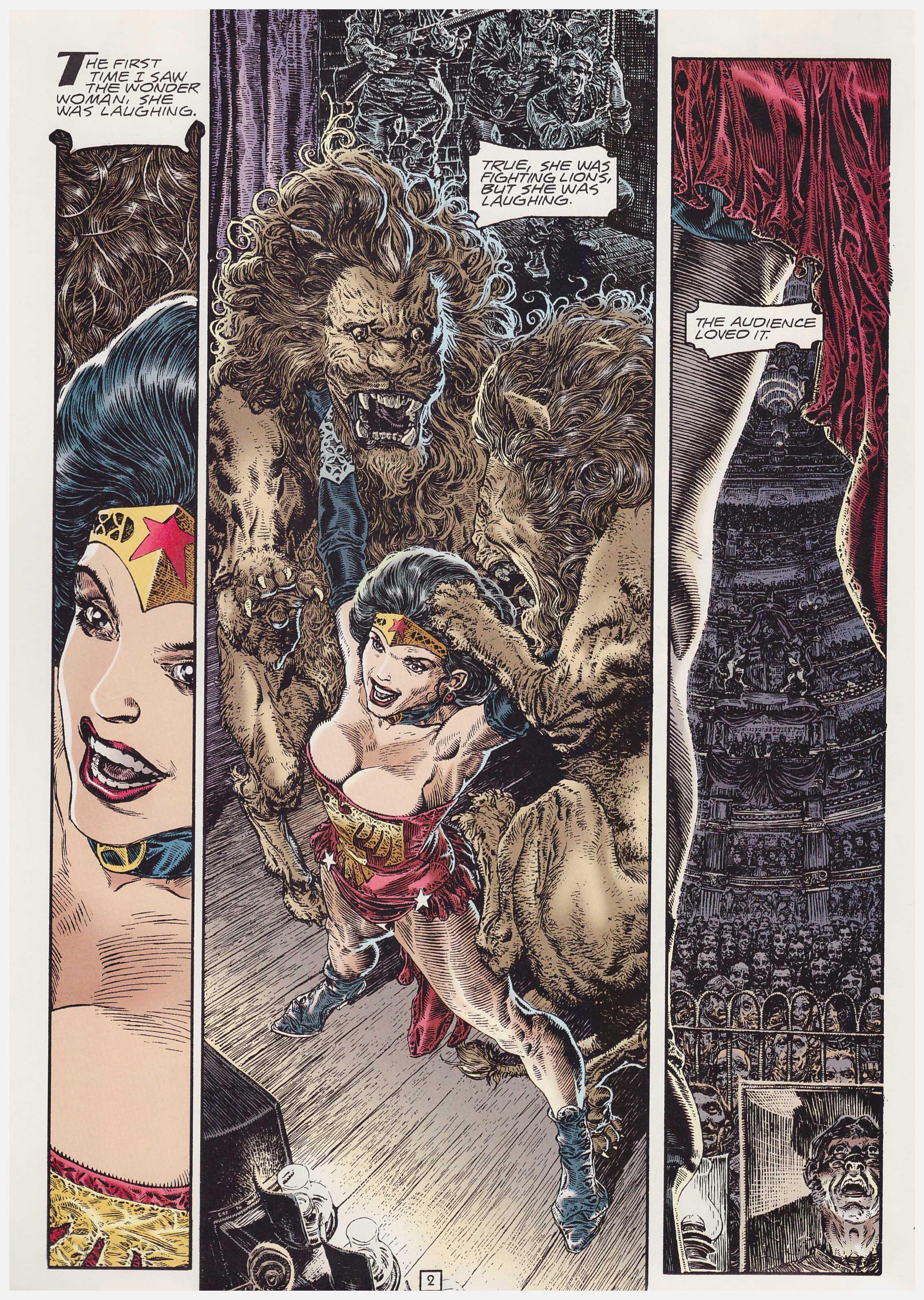 Wonder Woman Amazonia review