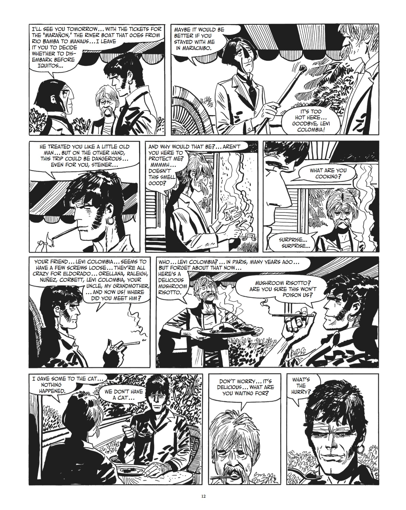 Corto Maltese Beyond the Windy Isles review