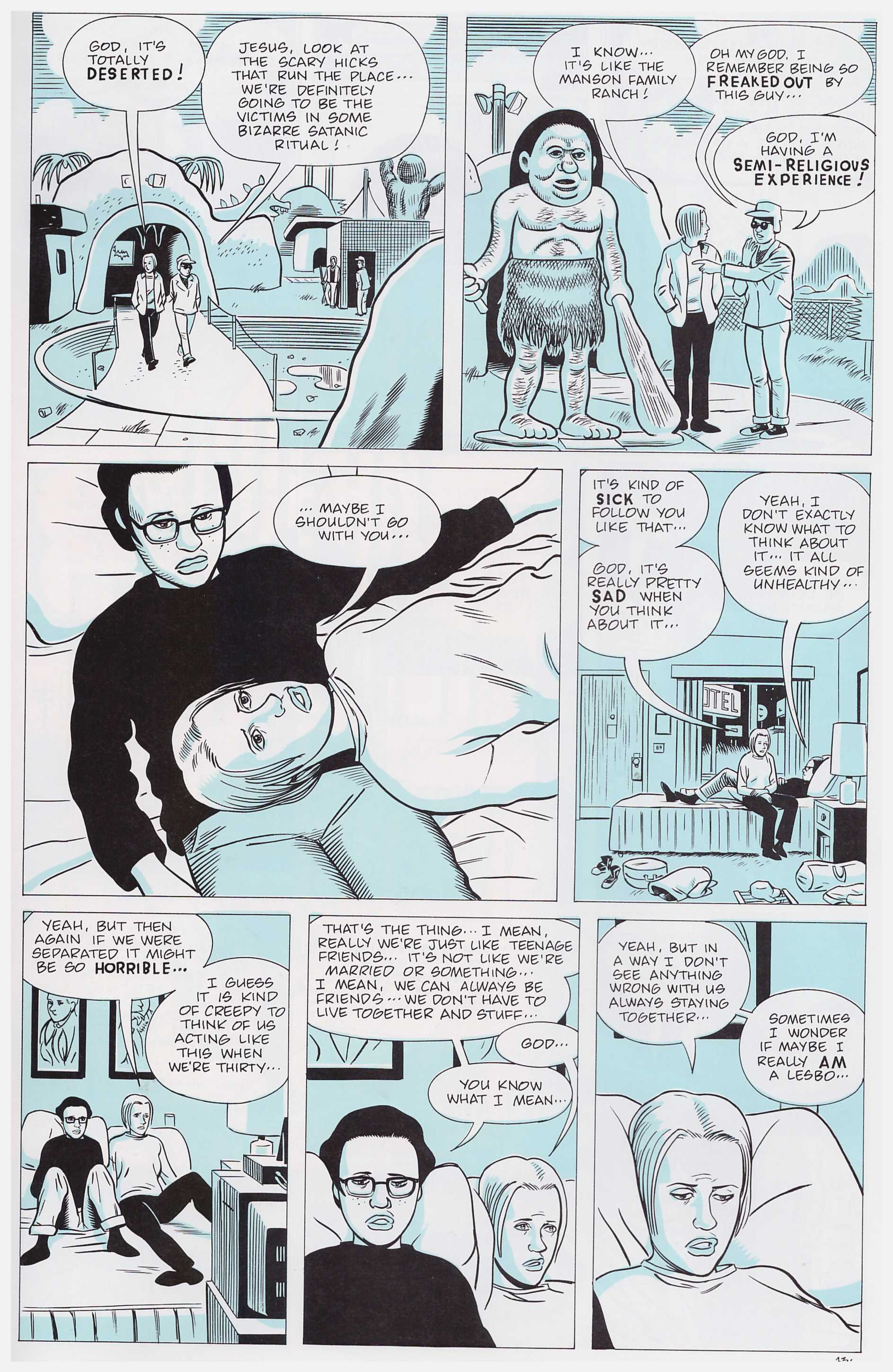 Ghost World graphic novel review