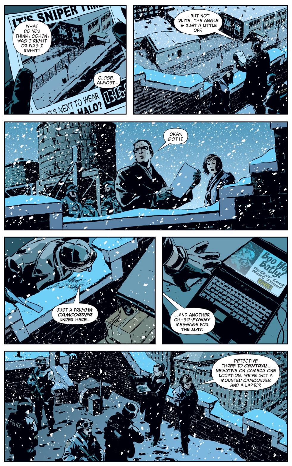 Gotham Central omnibus review